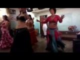 Восточный танец Shokran Awi (группа начинающих). Выступление 2.12.2017, кафе ОМ