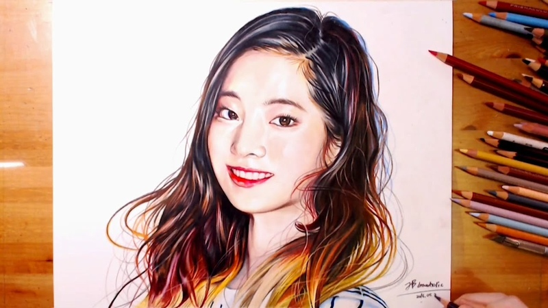 Drawing Da hyun, Twice 트와이스 다현(多賢) Cheer Up Teaser   drawholic