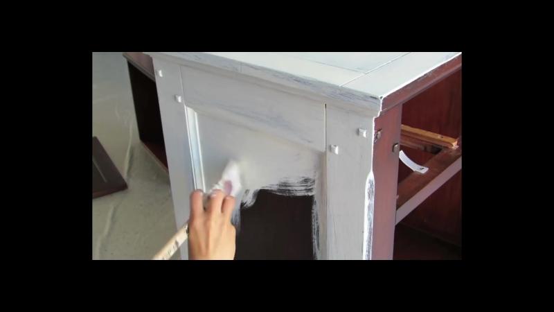 Перерождение старой тумбочки - Annie Sloan Chalk Paint