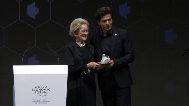 Шахрукх Кхан на вручении награды