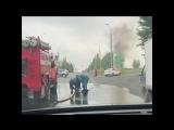 Возгорание автомобиля на ул. Автозаводская.