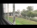 Поездка на поезде ЭД4М-0103. Перегон Пушкино-Ярославский Вокзал