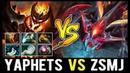 YaphetS Shadow Fiend vs ZSMJ Weaver Beautiful Raze Battle of Legends