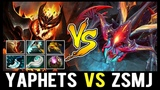 YaphetS Shadow Fiend vs ZSMJ Weaver - Beautiful Raze Battle of Legends
