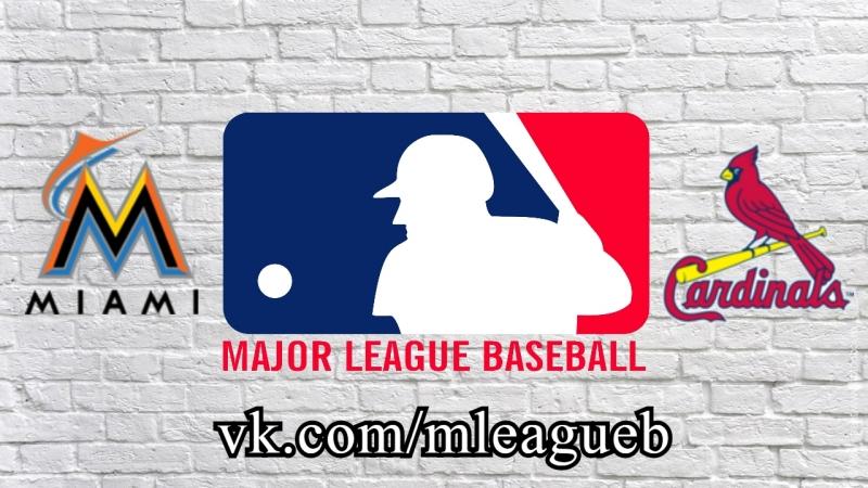 Maimi Marlins vs St. Louis Cardinals | 07.06.2018 | NL | MLB 2018 (3/3)