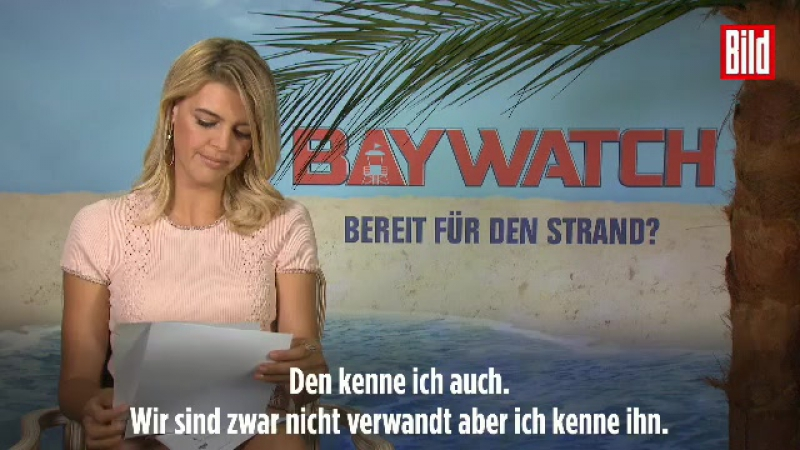 """""""Hallo, hier ist Kelly Rohrbach ..."""" - """"Baywatch""""-Star telefoniert mit deutschem Namensvetter"""