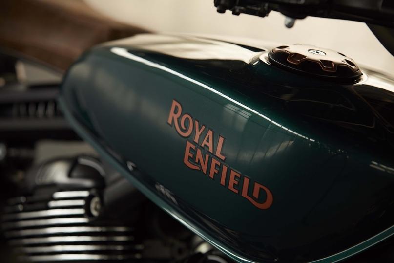 Фотографии концепта Royal Enfield KX