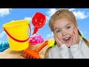 Learn Colors with Colored Toys Sand Molds and Finger Family Colors song \ Video for children