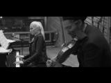 Valentina + David Garrett im Studio in New York