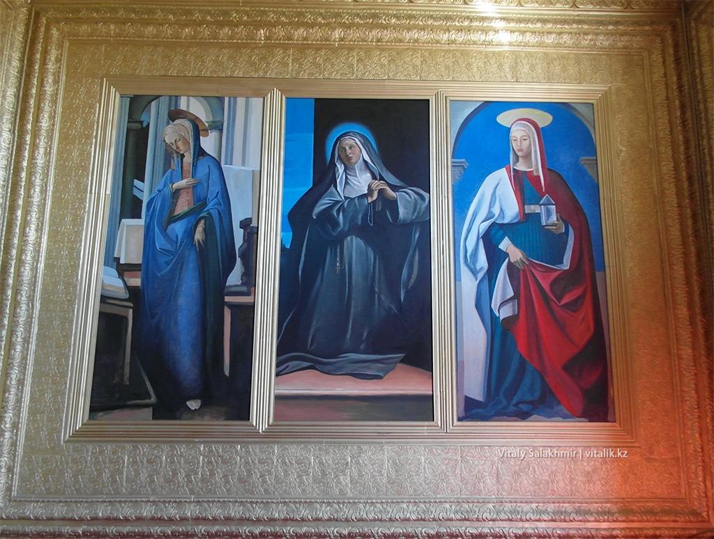 Католические иконы, часовня, Рух Ордо 2018