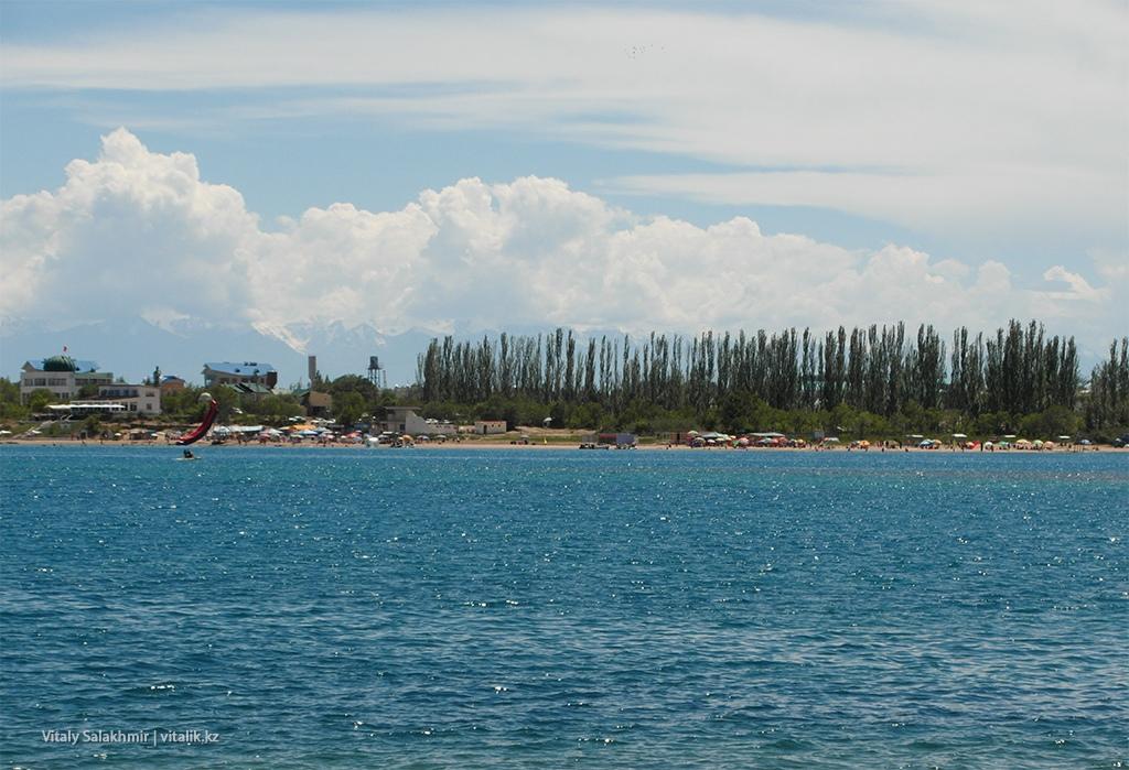 Городской пляж, вид от Рух Ордо