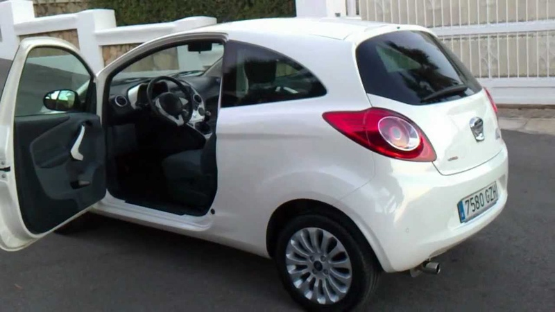 2010 FORD KA 1 3 TDCI TITANIUM 3DR LHD FOR SALE IN SPAIN