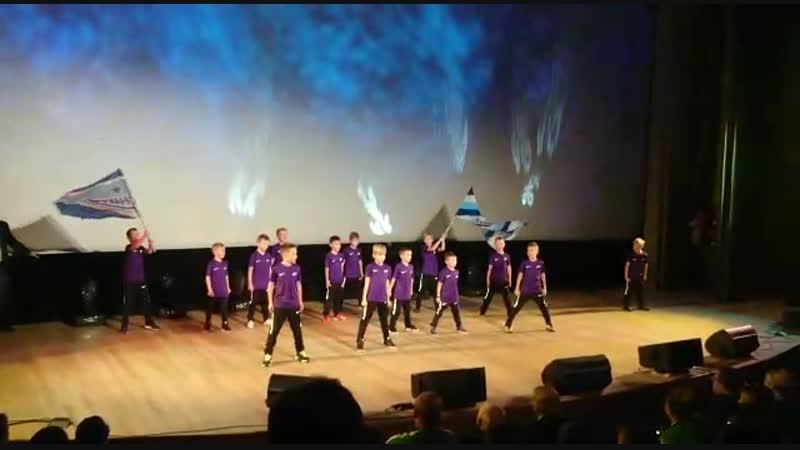 День Футбола 2018 - танцевальное выступление 2010-2011