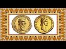 Монета Аурей 40 н э Калигула Древний Рим Aurey 40 AD