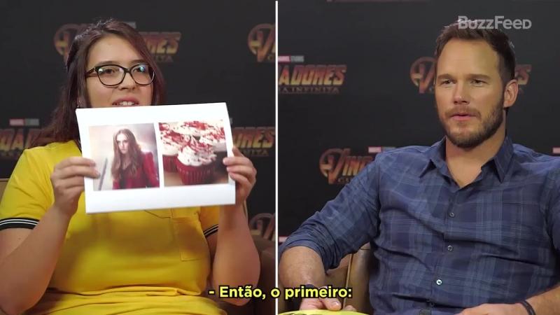 Vídeo | Chris Pratt em VINGADOR ou COMIDA