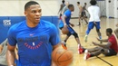 Russell Westbrook at Rico Hines UCLA Run