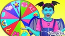 Junior Vampirina and Alice Playing with Magic Wheel