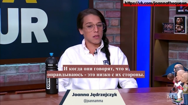 1 about weight cut pt 1 joanna jedrzejczyk the mma hour 04 04 2018