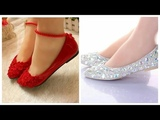 Top 30 Latest Stylish Flat Pumps Designs #Casual wear &amp Party Collection