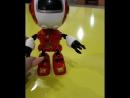 Металлический сенсорный робот, реагирует на прикосновения цена 3000тг