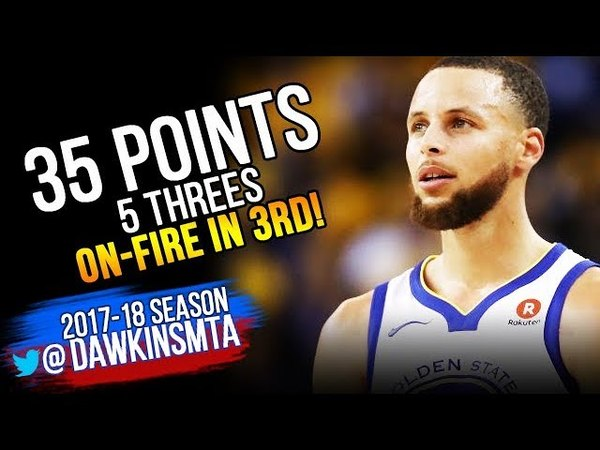 Stephen Curry Full Highlights 2018 WCF GM 3 Golden State Warriors vs Rockets - 35 Pts! | FreeDawkins