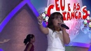 DINHO ROSE AND SIENNA BELLE SINGING ONE (U2) SONG, PROGRAMA RAUL GIL SBT