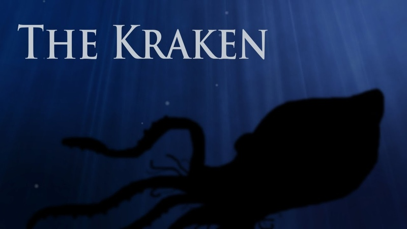 The Kraken by Lord Alfred Tennyson Reading by Guildencrantz Rhuze and Dijit