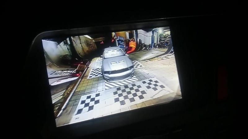 Cистема кругового обзора 3D CAN BIRDVIEW 360 на Citroen DS5