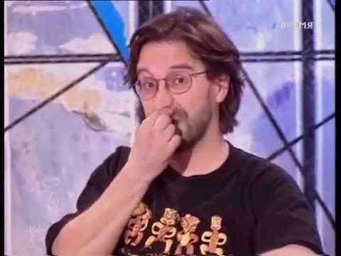 Юрий Шевчук в телепередаче До 16 и старше. 1998