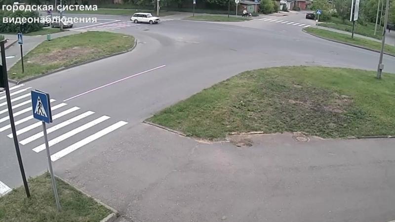 ДТП Саров перекрёсток ул Силкина ул Чапаева