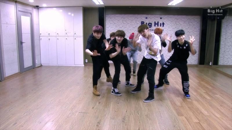 방탄소년단 상남자(Boy In Luv) dance practice
