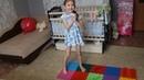Упражнения на ортопедическом коврике