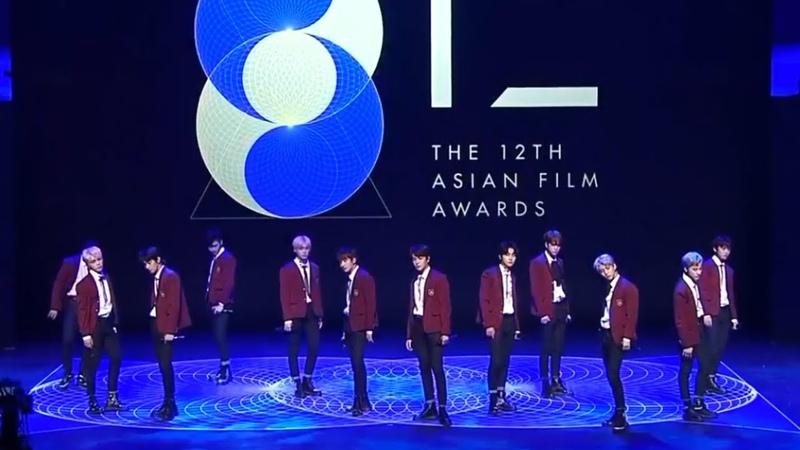 180317 더보이즈(THE BOYZ) Asian Film Awards 무대 영상 - 시간이 안 지나가소년