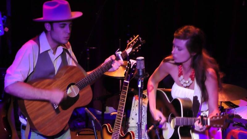 Lera Lynn and Ben Lewis - Wolf Like Me (TV on The Radio) 2012-06-14 Melting Point - Athens, Ga