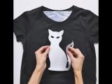 Легкие способы сделать крутой принт на футболке.