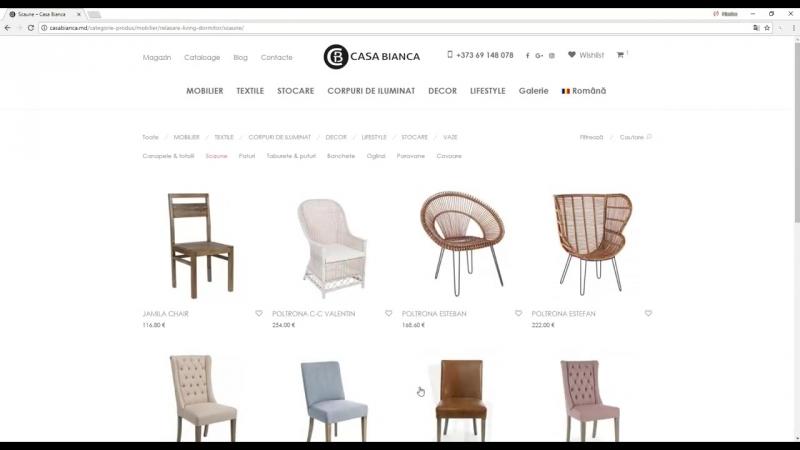New Cromatix Work a Web site store_ www casabianca md