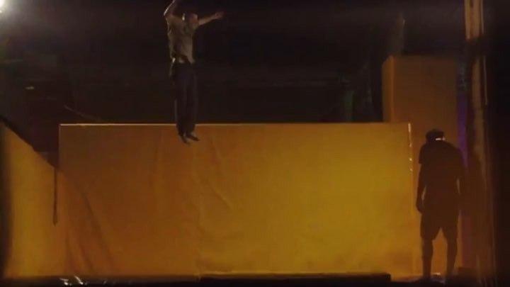 "Valentin Taranov on Instagram: ""Tramplinovy 🐲🗣🌊 @ddevilsfamily trampoline trick samara ddevils"""