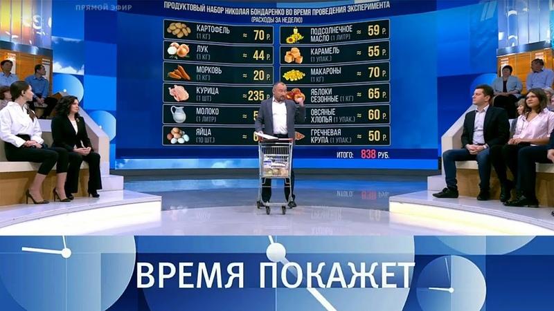 «Министерская диета» жить или выжить Время покажет. Выпуск от 14.11.2018