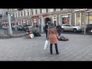 30.03.18  Железный Ирокез  Питер  Ст. м. Владимирская  Уличные Музыканты