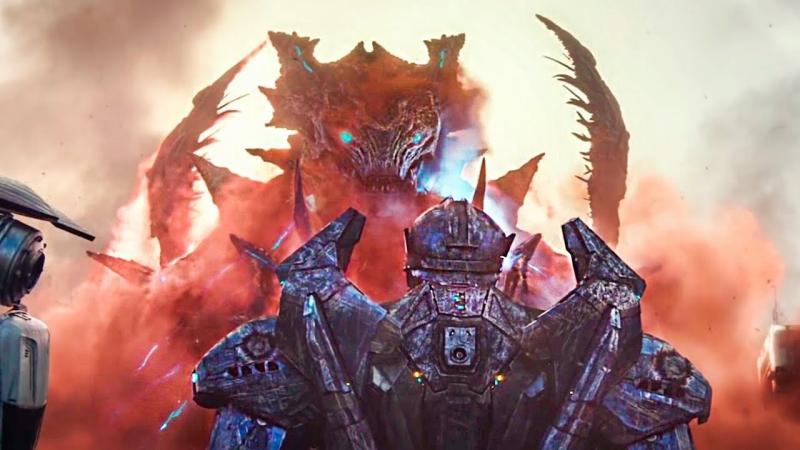 Гигантские монстры напали на наш мир Где Смотреть Кино Фильм Тихоокеанский рубеж 2Момент из фильма