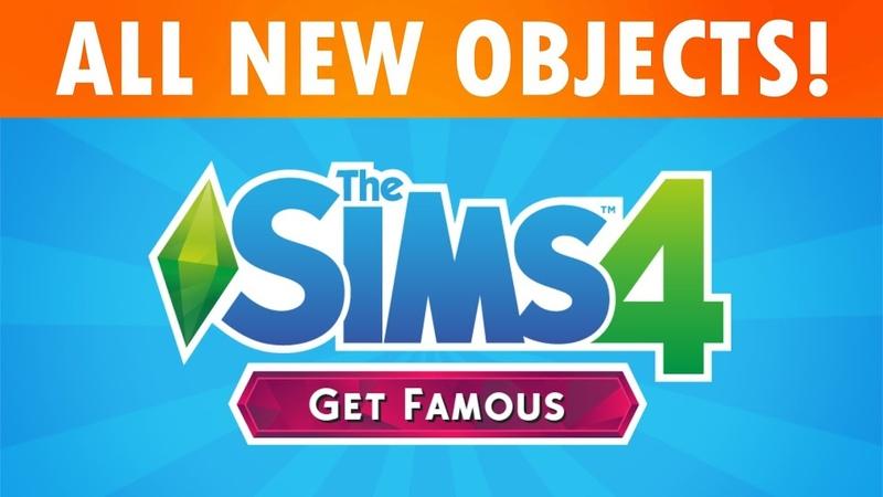 The Sims 4 Путь к славе — Все объекты режимов покупки и строительства