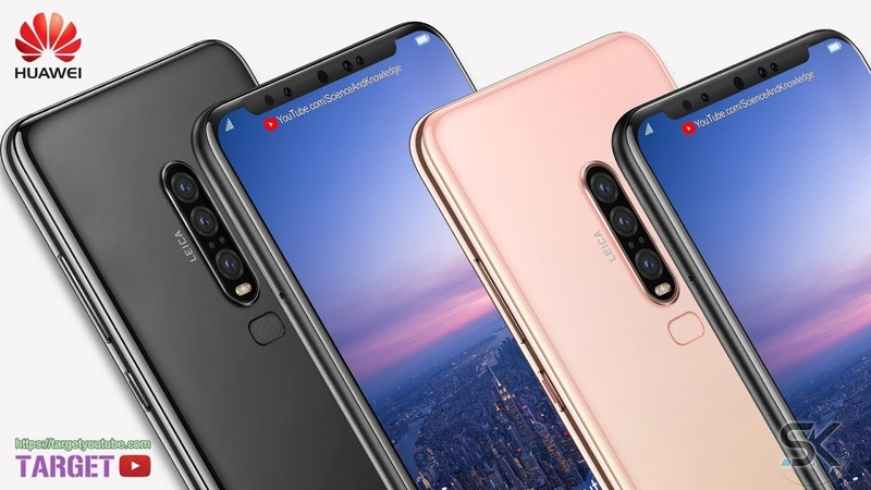 Huawei P30 Pro, First Look, Leaked Design, Phone Specifications, Concept, Trailer 2019