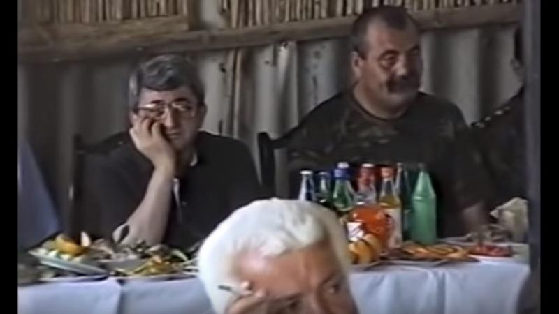 Բացառիկ տեսանյութ . Սերժ Սարգսյանի և Մանվել Գրիգորյանի 90-ականների քեֆերը