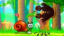УЛИТКА БОБ 2 Фэнтези история Часть 1 Мультик игра для детей Несносный боб 2 Snail Bob 2