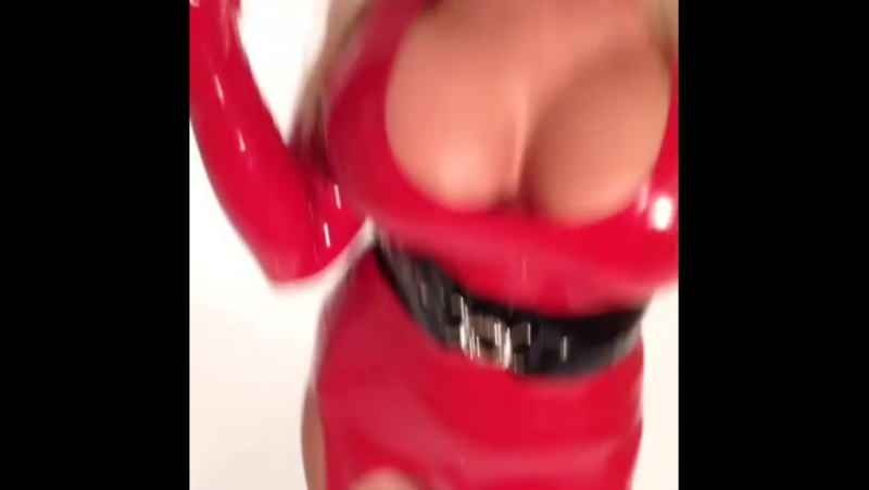 Red Christmas Latex - BTS Candid