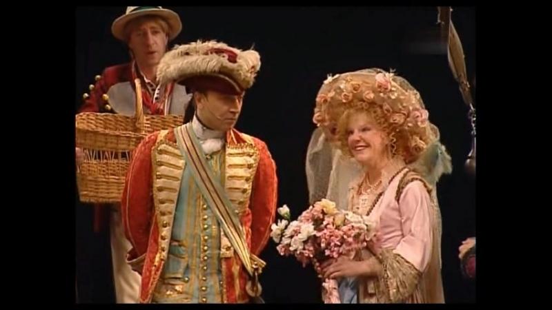 Безумный день или женитьба Фигаро спектакль театра Ленком 2005