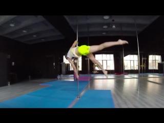 Тренировочные будни. Pole Dance Acrobatic