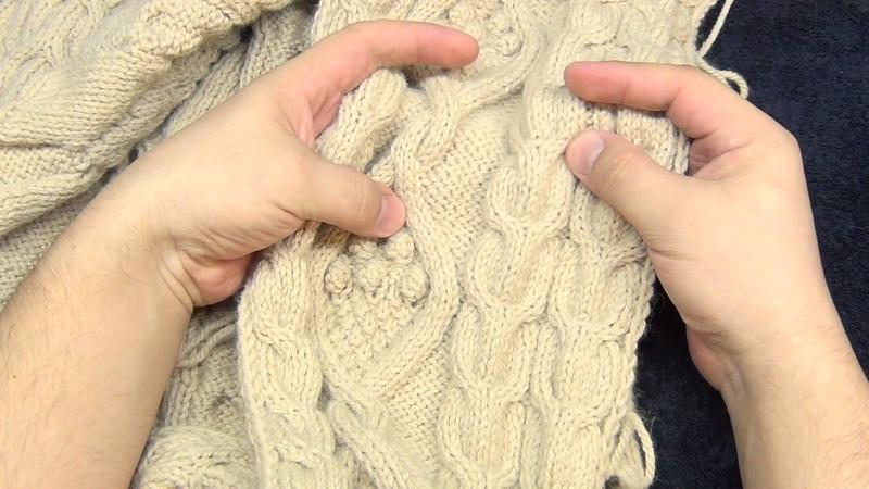 Кардиган пальто часть вторая Полочки Рубрика Долгострой
