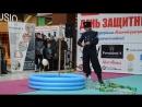 Рубка мишени на стойке от «Федерации рубки шашкой «Казарла»