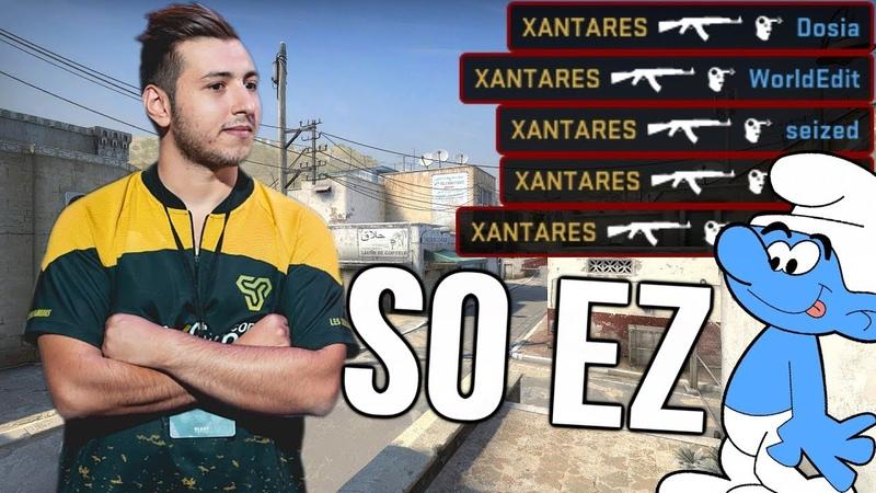 How XANTARES Really Plays CS:GO